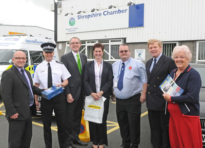 Anti crime scheme launched at Chamber HQ
