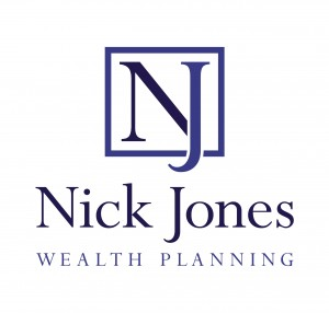 nick jones Logo Stacked