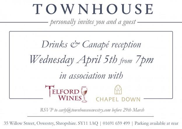 Townhouse INVITE 5th April 2017