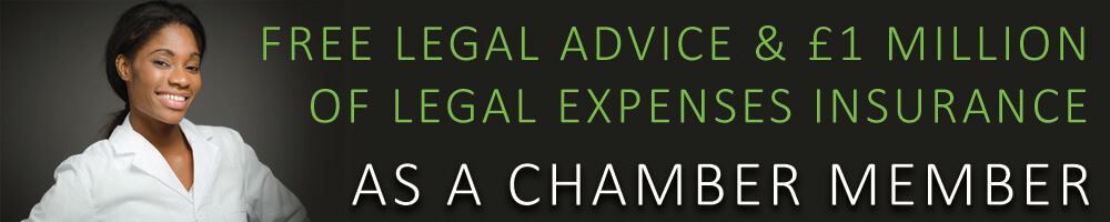 Free Legal Advice as a Chamber Member