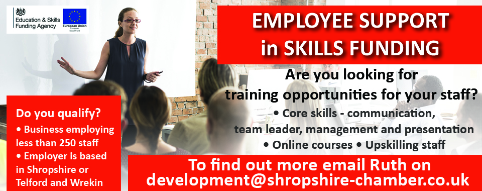Employee Support in Skills Funding